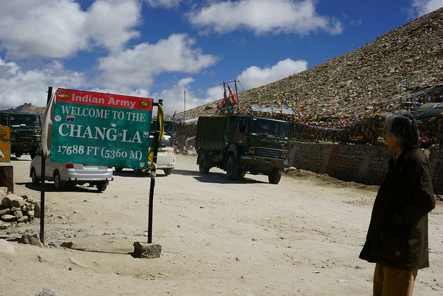 Chang-La pass, 5360 meter altitude. Ladakh, 09 Aug 2014. 423
