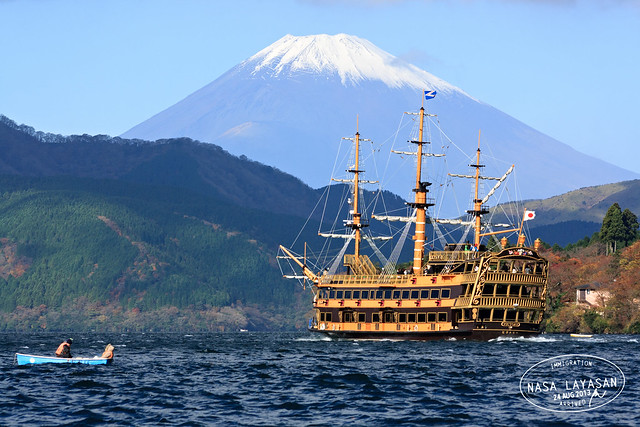 Hakone Sightseeing Boat, Hakone-Machi to Togendai, Kanagawa, Japan