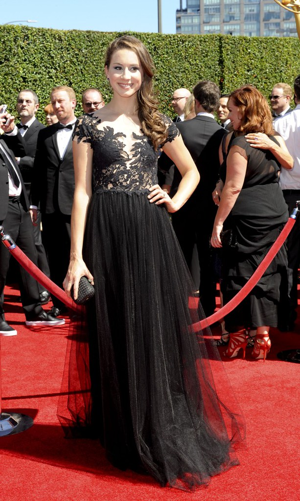 The Creative Arts Emmy 2014 arrivals..Featuring: Troia Bellisario.Where: Los Angeles, California, United States.When: 17 Aug 2014.Credit: Apega/WENN.com