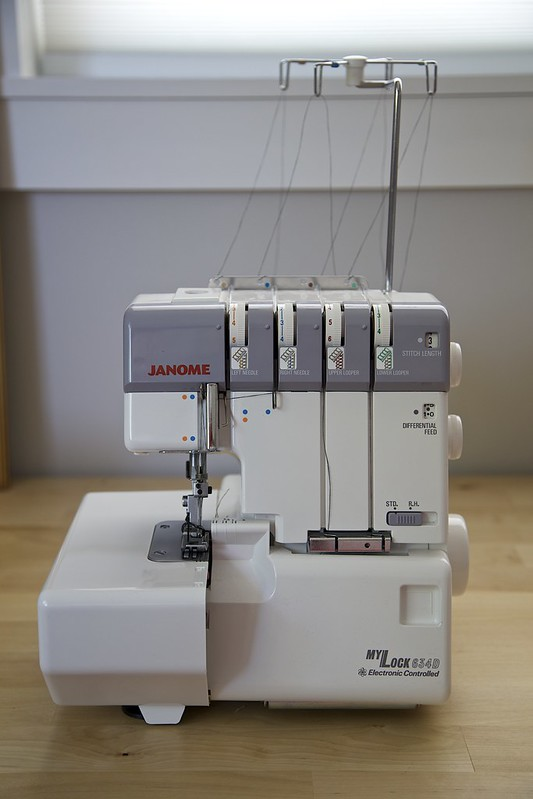 Serger maintenance