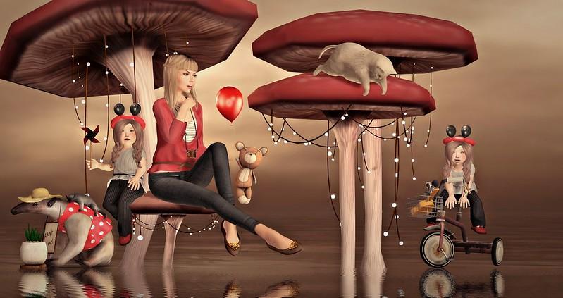 "Amelie et les petites: Episode ""Mushroom Lights"""