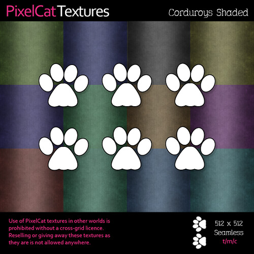 PixelCat Textures - Corduroys - Shaded