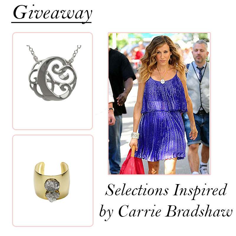 carrie bradshaw giveaway