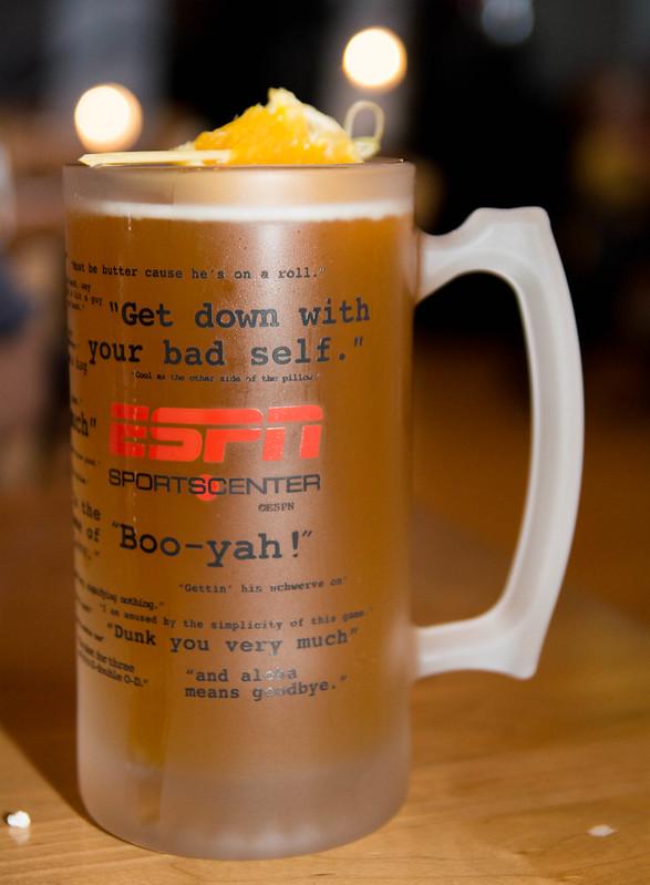 ESPN Beer Mug
