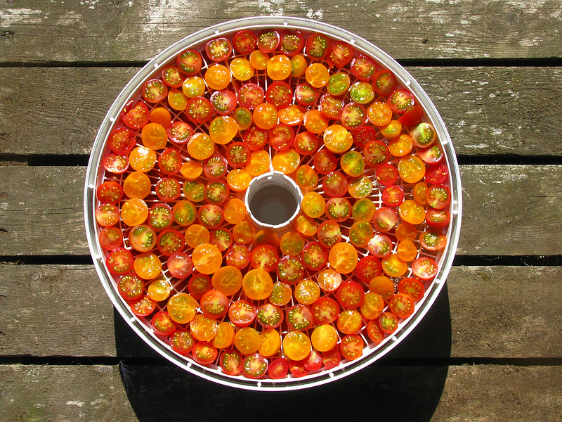 Wheel of Cherry Tomatoes