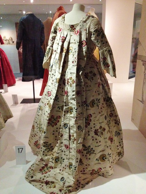 Back of a Georgian Dress