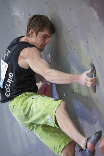 Final of the IFSC Boulder World Championship 2014