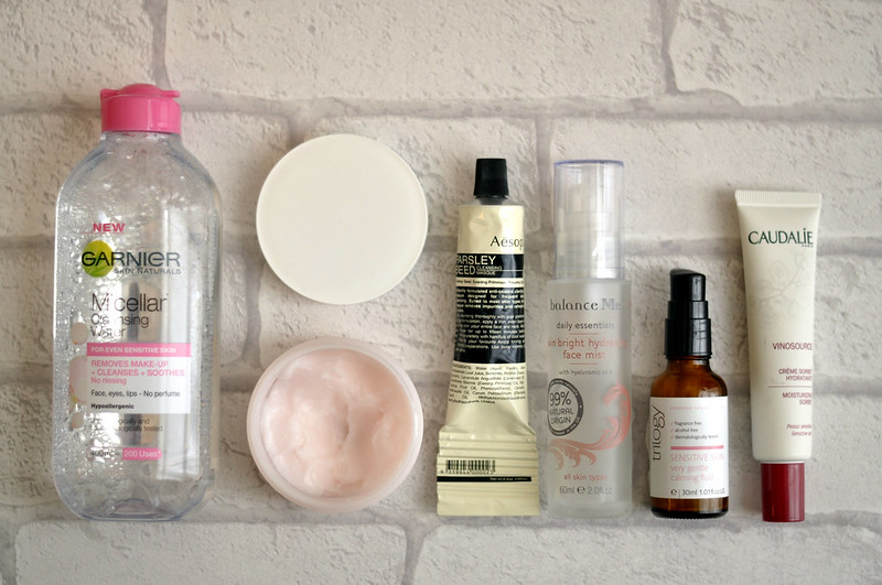 skin care diary products routine august 2014 rottenotter rotten otter blog