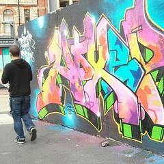 Graffiti newydd #ffotobobdydd
