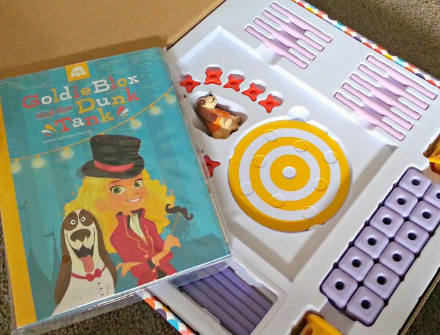 GoldieBlox Dunk Tank Parts, GoldieBlox review