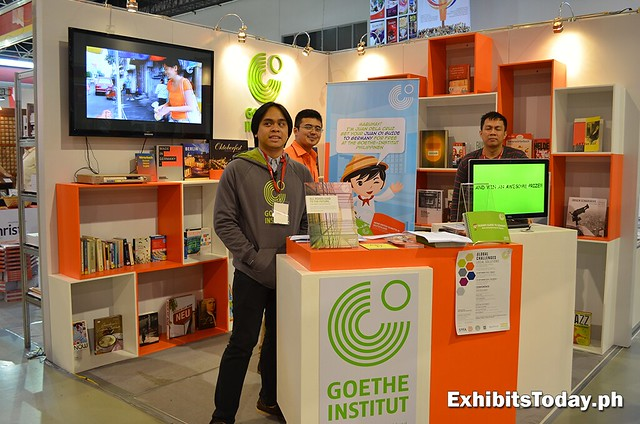 Goethe-Institut Exhibit Booth