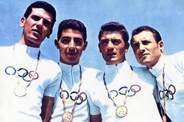 Podio Olimpiade di Roma 1960