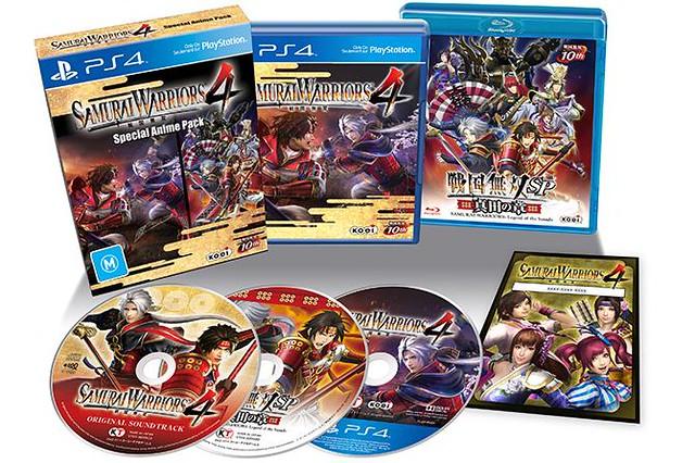 Samurai Warriors 4 10th Anniversary Anime Edition