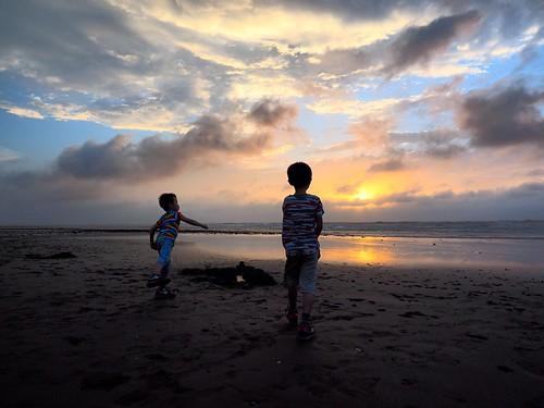 sunset sea coast nice dusk 09 kai sep seashore 海岸 eason 日落 yi 2014 夕照 新屋 九月 亦 鎧亦 翃亦