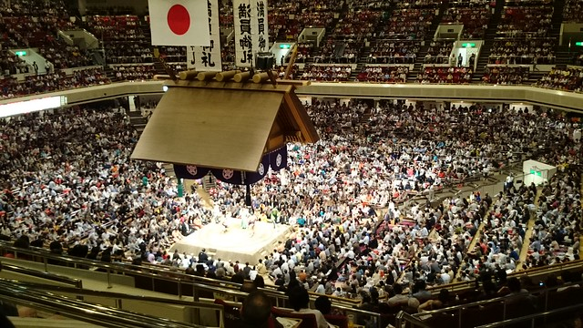 sumo stadium at 5pm