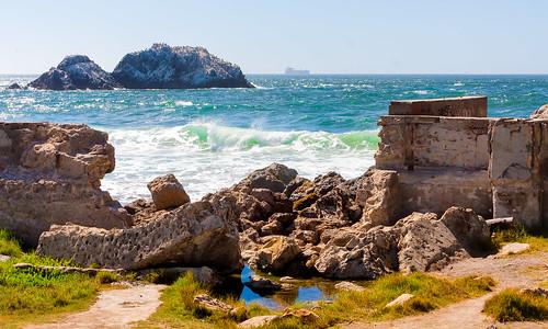 pacificocean sutrobaths oceanbeach coastaltrail cliffhouse