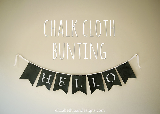 Chalk Cloth Bunting 1