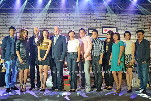 KIM CHIU WITH TECH GIANTS. Actress Kim Chiu photo ops with tech giants executives.