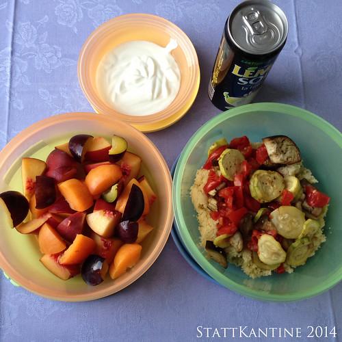 StattKantine 16.09.14 - Backofengemüse, Obst, LemonSoda