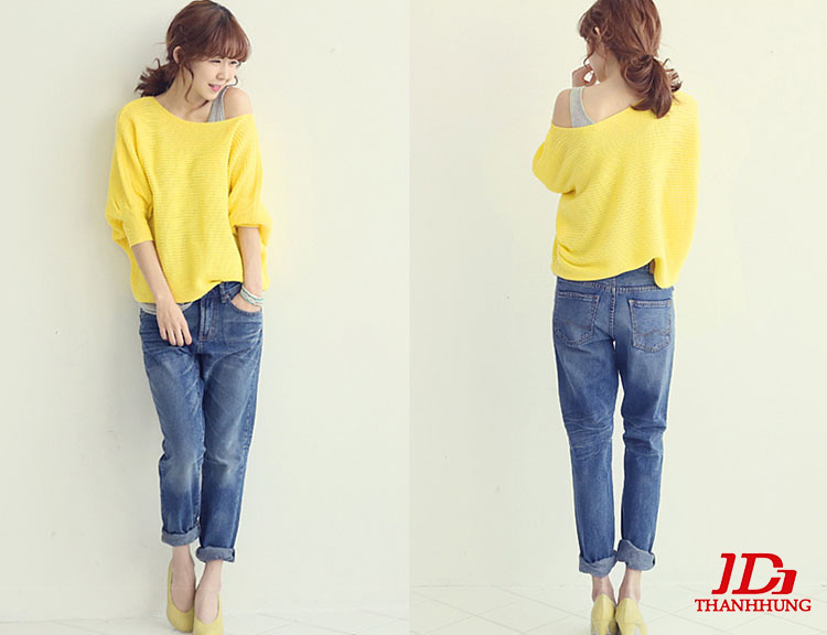Mẫu quần jeans boyfriend nữ đẹp CỰC chất