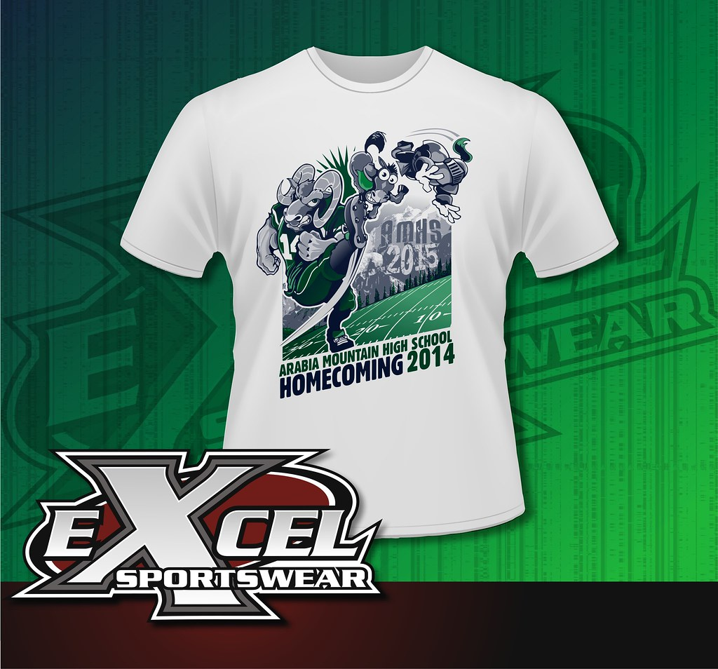 we design your custom homecoming shirts excel sportswear