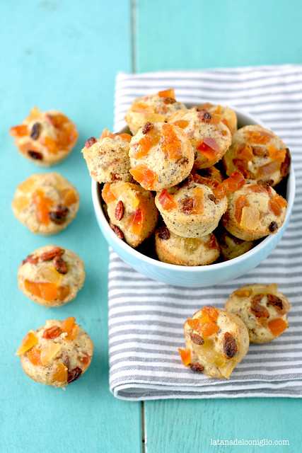 Muffins multivitaminici alle bacche di goji e frutta secca (senza glutine)4