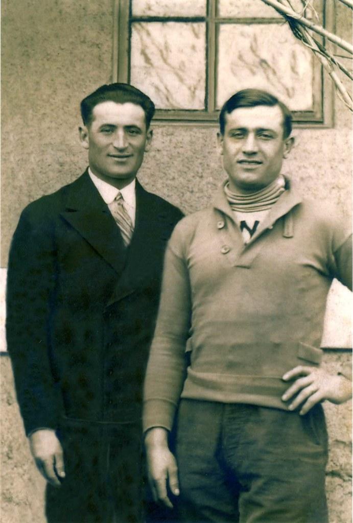Domenico Piemontesi e Battista Giuntelli