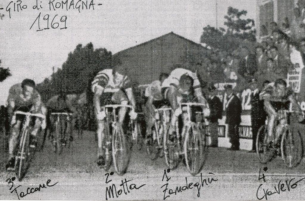 arrivo Giro di Romagna 1969