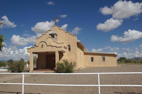San Isidro Catholic Mission Church, Las Nutrias, NM