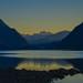 Small photo of Alouette Lake at Sunrise