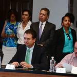 Instalación Interinstitucional y Toma de Protesta contra la Trata de Personas. 12 de Agosto 2014