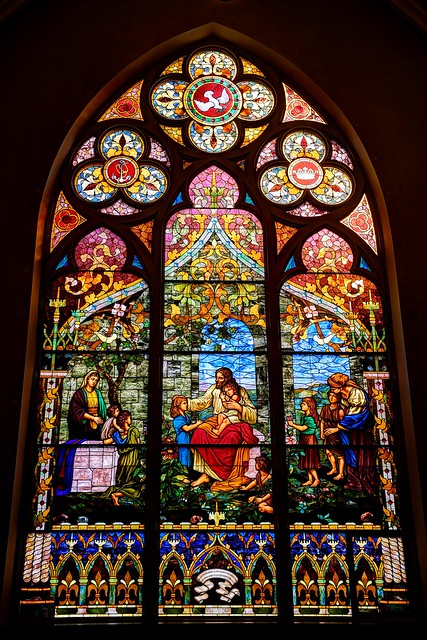 Grace Evangelical Lutheran Church window