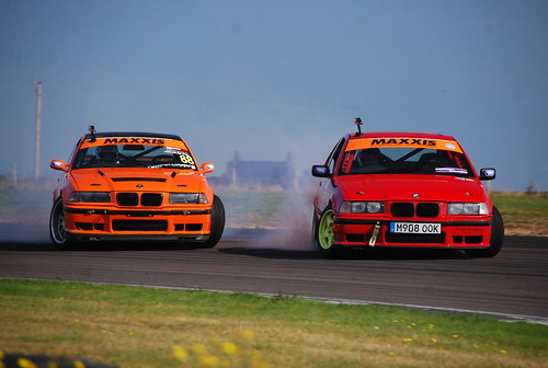 Richard Grindrod - William Rose, Maxxis British Drift Championship, Anglesey 2014