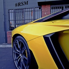 Lamborghini Aventador 🍌  #roadstarr
