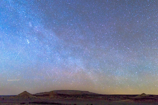 Milky Way over the Painted Desert
