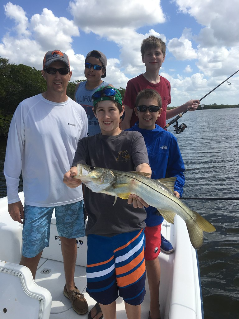 Charter fishing with kids!