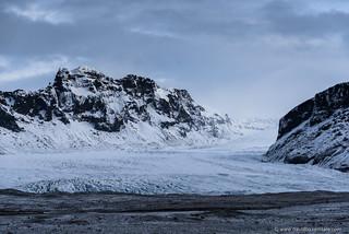 Glacier Dawn
