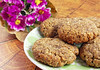 Crispy Flourless Flax Cookies (Vegan And Gluten-Free)