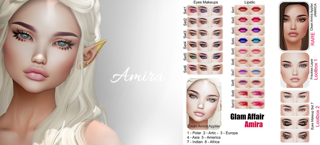 Glam Affair - Amira for LootBox - SecondLifeHub.com