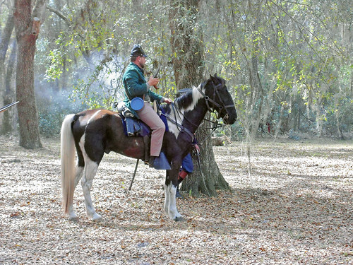 livinghistory reenactment reenactor costume horse inverness florida