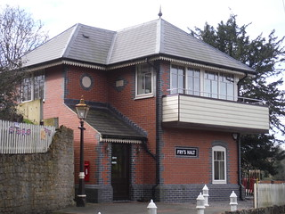 Office Building in Design of Signal Box, Bruton
