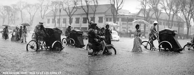 Mưa Saigon 1968 - Ngã tư Lê Lợi-Công Lý
