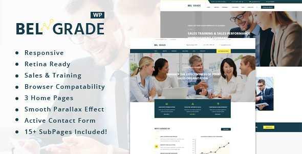 Belgrade WordPress Theme free download