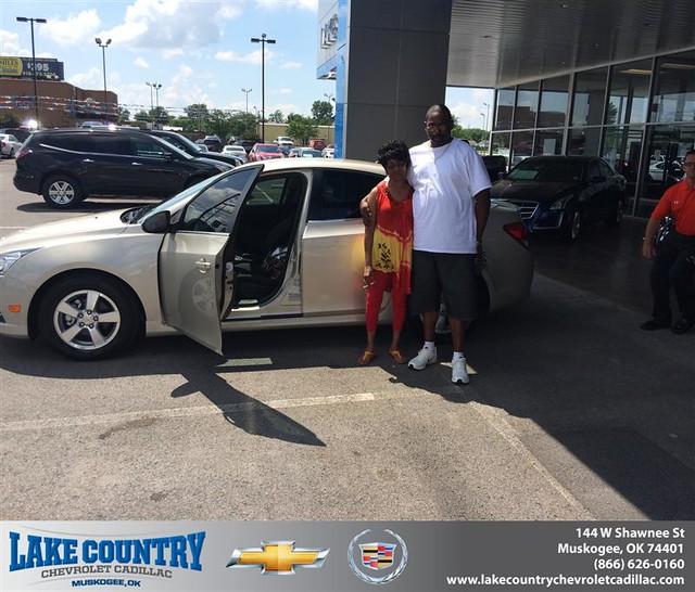 Tulsa Chevy Dealers: Congratulations To Wanda Buchanan On Your #Chevrolet