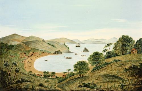 010- Playa de Kororareka- Nueva Zelanda-Gardiner, 1856-Museo Te PapaTongareva