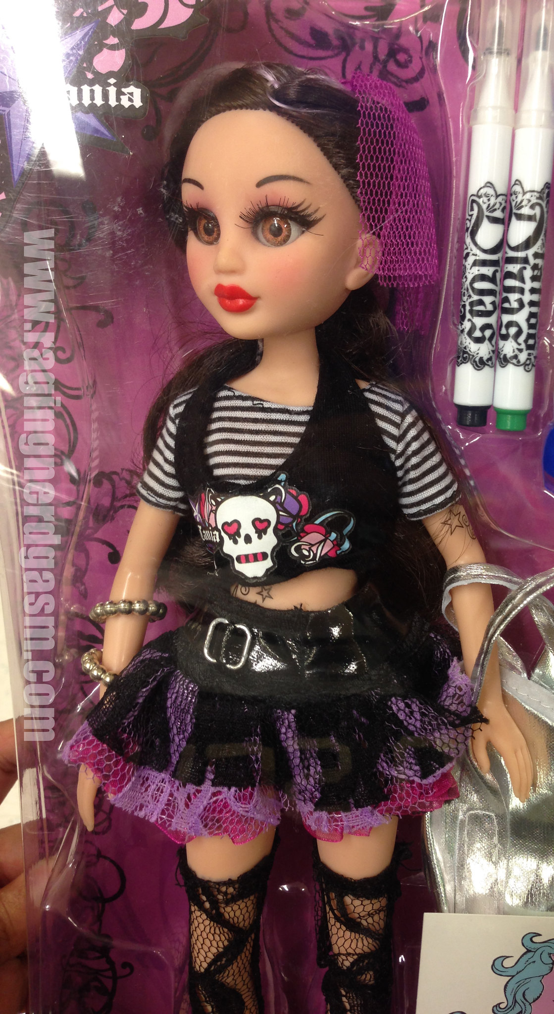 Tattoo Divas Large Dolls Tania  (1)