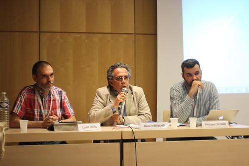 Lionel Dujol, Gérard Briand, Philippe Colomb - 60e Congrès de l'ABF