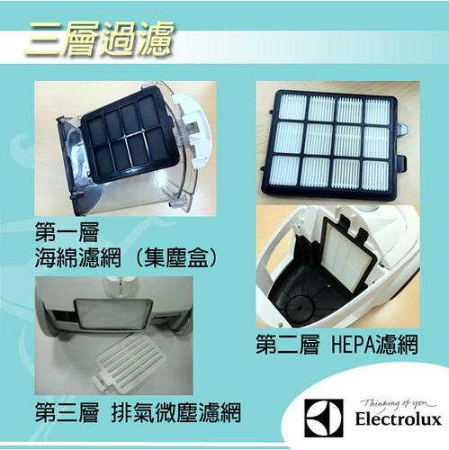 Electrolux Z1860 Lite II HEPA 吸塵器