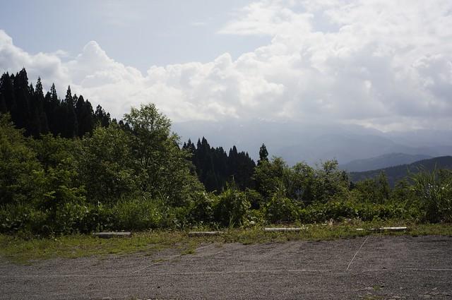 白山撮影スポットを訪ねて 西山 白山パノラマ公園