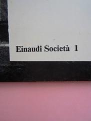 Fogli di via, di Tullio Pericoli. Einaudi 1976. Responsabilità grafica non indicata [Bruno Munari]. Copertina (part.), 4